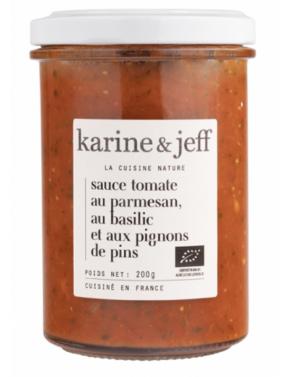 Sauce tomate au parmesan,...