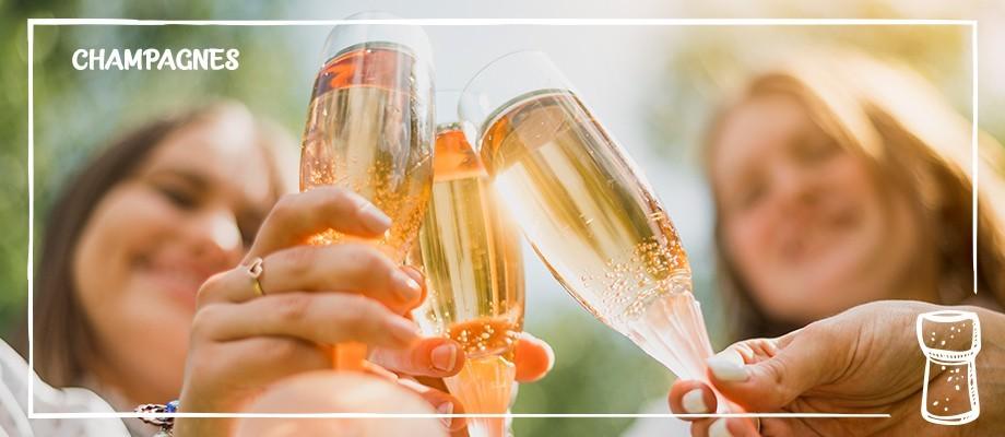 Les Bulles - Les champagnes