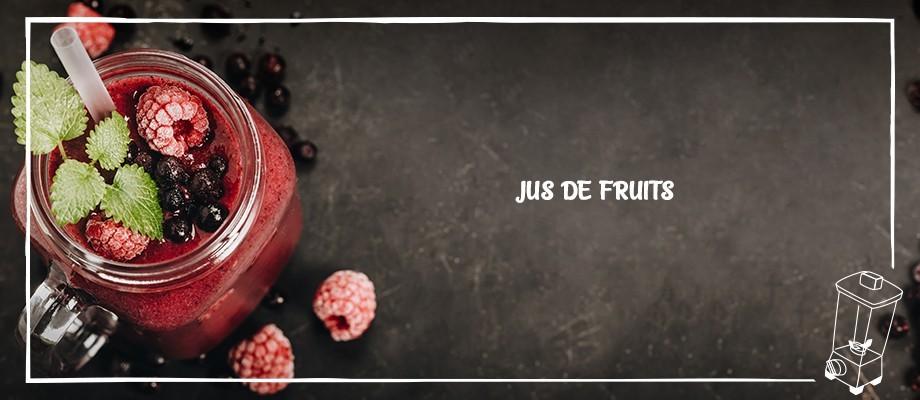 Epicerie sucrée - Jus de fruits
